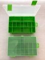 Organizér  zelený 251645-plastová krabička na kancel.a drobné předměty